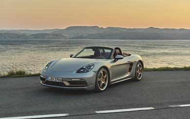 2021 Porsche Boxster 25 Years Edition wallpaper thumbnail.