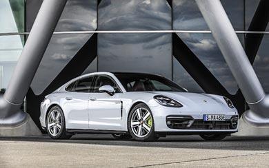 2021 Porsche Panamera 4S E-Hybrid wallpaper thumbnail.
