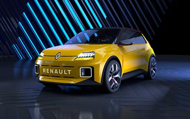 2021 Renault 5 Concept wallpaper thumbnail.