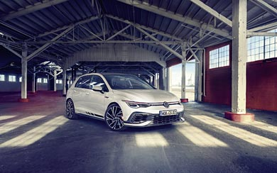 2021 Volkswagen Golf GTI Clubsport wallpaper thumbnail.
