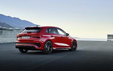 2022 Audi RS3 Sportback wallpaper thumbnail.