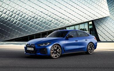 2022 BMW i4 M50 wallpaper thumbnail.