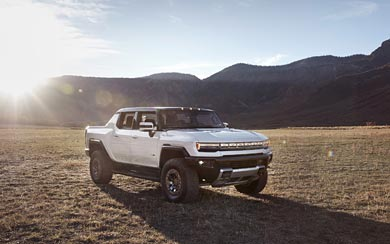 2022 GMC Hummer EV wallpaper thumbnail.