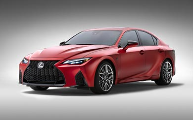 2022 Lexus IS 500 F Sport Performance wallpaper thumbnail.