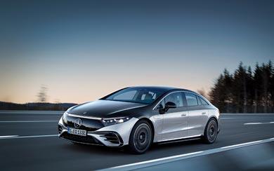 2022 Mercedes-Benz EQS wallpaper thumbnail.