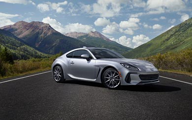 2022 Subaru BRZ wallpaper thumbnail.